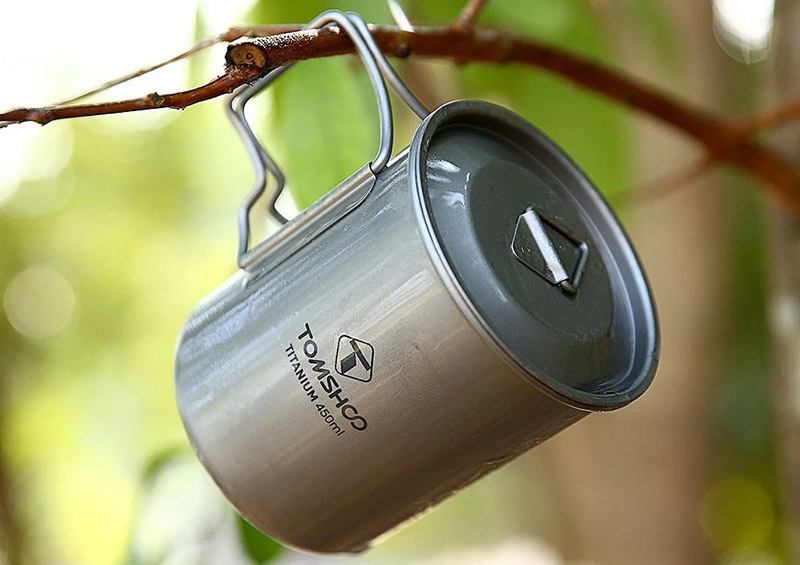 ​​​​​​​Lids and Handles Camping Cookware
