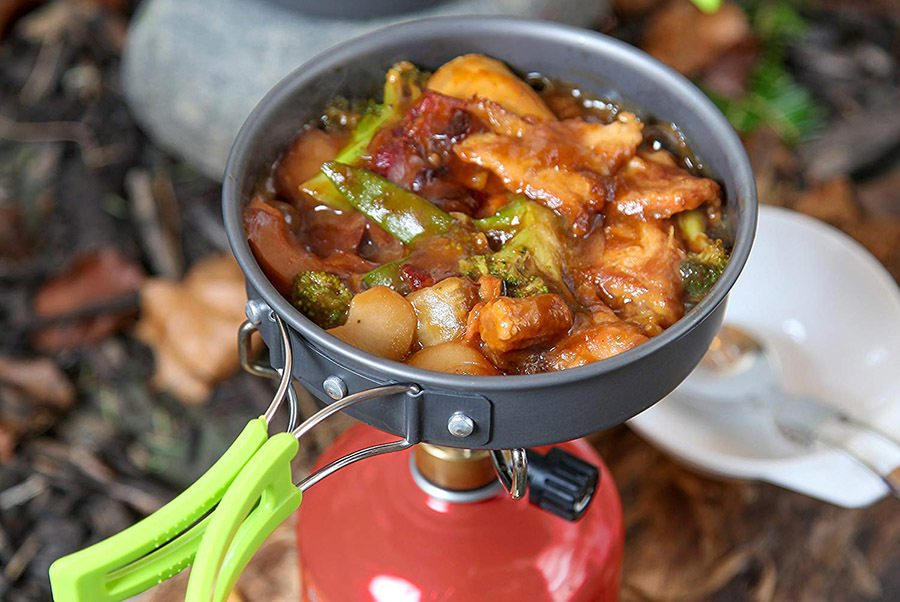 MalloMe Camping Cookware Kit Review